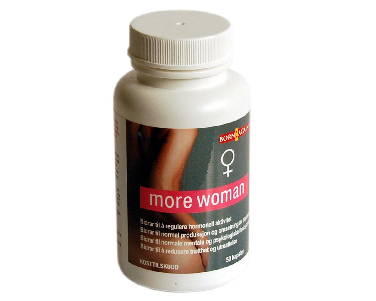 kombinera Paroxetin med More Woman