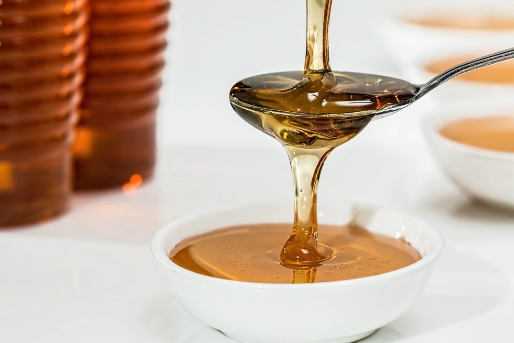 Honung hjälpa till att läka sår