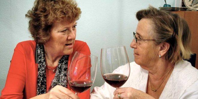 några glas vin till maten med losartan